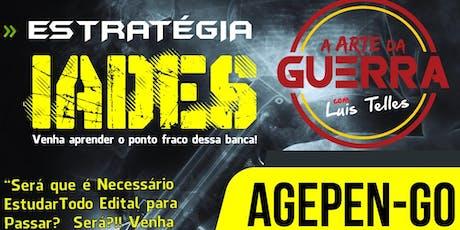 BRASÍLIA-DF | ARTE DA GUERRA AGEPEN-GO - MEGA ESTRATÉGIA IADES ingressos