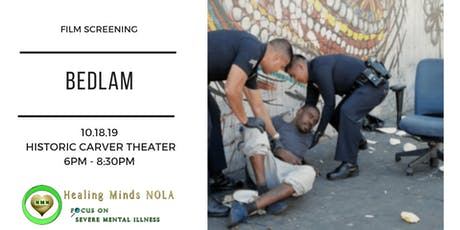 Film Screening - BEDLAM - A Look Inside America's Mental Health Crisis tickets