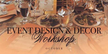Event Design & Decor Workshop  (October) tickets