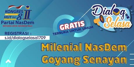 Dialog Selasa: Milenial NasDem Goyang Senayan  tickets