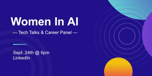 Women in AI Tech Event at LinkedIn
