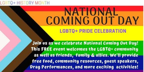 National COMING OUT Day Celebration tickets
