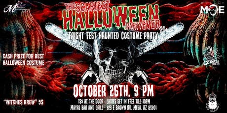 Fright Fest Haunted Costume Party 21+ tickets