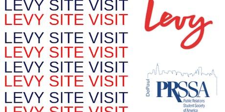 DePaul PRSSA Site Visit at Levy tickets