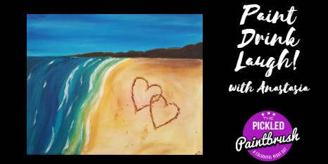 Painting Class - Beach Love - ALL AGES - October 19, 2019*