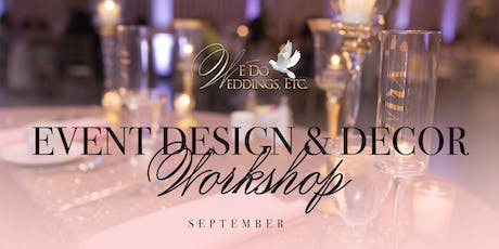 Event Design & Decor Workshop (September) tickets