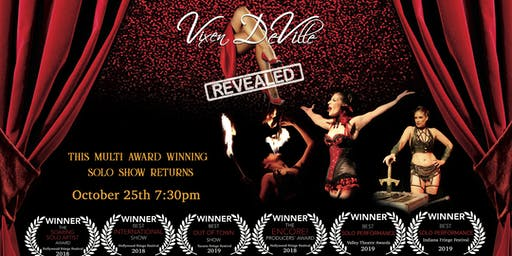 """LIVE TV SHOW TAPING """"Vixen DeVille Revealed"""" at the Whitefire Theatre"""
