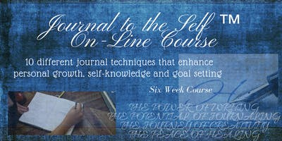 Journal to the Self ™ On-Line Course - Starts September 30, 2019