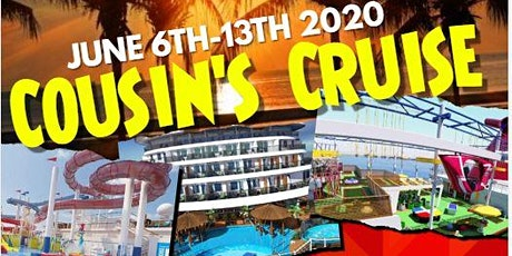 Cousin's Cruise to Mexico tickets