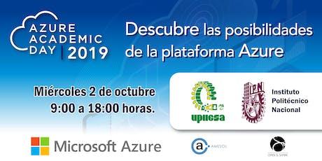 Azure Academic Day 2019 - UPIICSA boletos