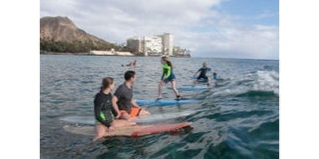 Family Surfing Lessons 1 Hr (2020-02-07 starts at 9:00 AM) tickets