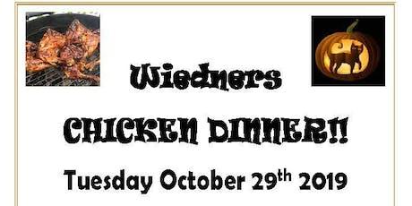 Fall Chicken Dinner tickets