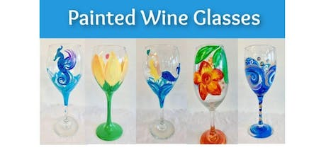 PAINTED WINE GLASSES! 10/4 (2019-10-04 starts at 6:30 PM) tickets