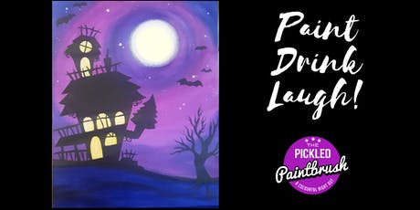 Painting Class - Spooky House - October 20, 2019* tickets