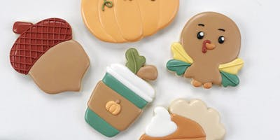 Fall Cookie Decorating Workshop For Beginners