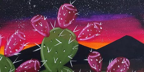 Canvas, Coffee & Confections - The Evening Prickly Pear tickets