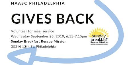 NAASC Philadelphia: Service @ Sunday Breakfast tickets