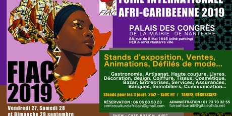 La Foire Afri Caribeenne billets