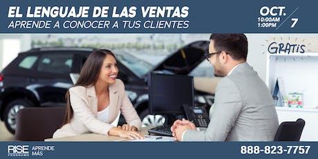 El Lenguaje De Las Ventas tickets