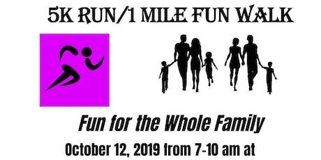 The Cancer Awareness Network's 5K Fun Run & 1 Mile Walk tickets