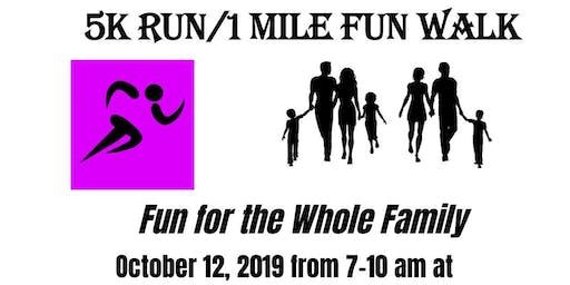 The Cancer Awareness Network's 5K Fun Run & 1 Mile Walk