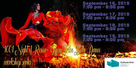 1001 Night of Roma-Gypsy Tribe Belly Dance workshop series tickets