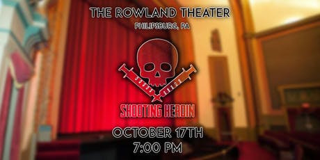 """""""Shooting Heroin"""" Red Carpet Premiere - The Rowland Theater tickets"""