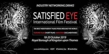 Satisfied Eye International Film Festival Industry Drinks tickets