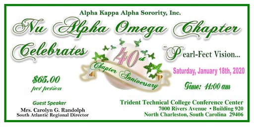 "Nu Alpha Omega Chapter Celebrates 40 Years of ""Pearl-fect"" Vision"