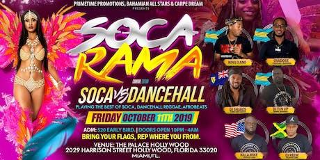 SOCA  RAMA tickets
