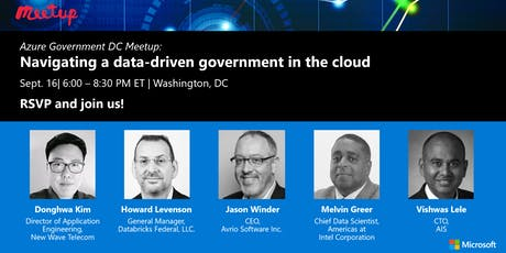 Azure Gov Meetup: Navigating a data-driven government in the cloud tickets