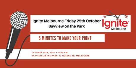 Ignite Melbourne - Priscilla Plancke tickets