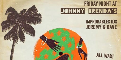 Friday Night at Johnny Brenda's with Improbable DJs Jeremy and Dave