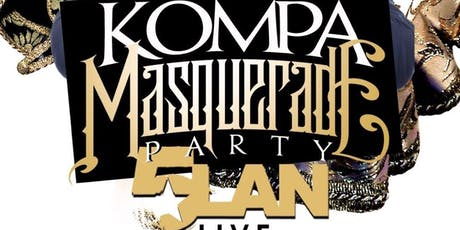 Kompa Meets Afrobeats Masquerade party Featuring 5LAN tickets