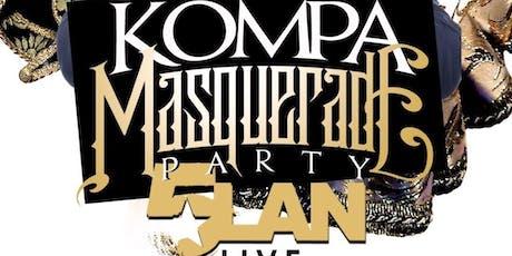 Kompa Masquerade party Featuring 5LAN tickets