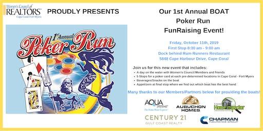 1st Annual Boat Poker Run