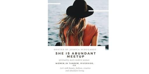 She is Abundant Meetup