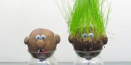 Grass head creatures