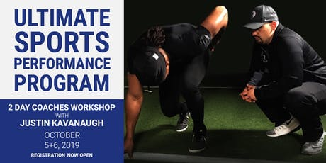 Ultimate Sports Performance Program with Coach Justin Kavanaugh tickets