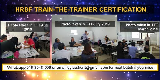 HRDF Train-the-Trainer Certification