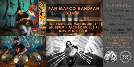 PanMarco Handpan Gathering and Trade Show tickets