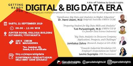 Getting Ready For Digital & Big Data Era tickets