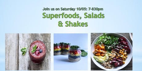 Superfoods, salads and shakes tickets
