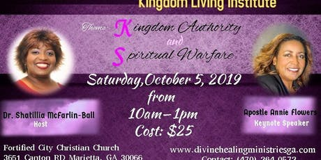 DHM Kingdom Living Institute tickets
