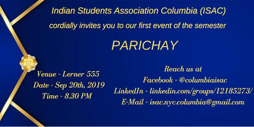 Parichay (Columbia University Students Only)