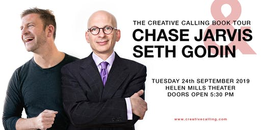 AN EVENING OF CREATIVITY with Chase Jarvis + Seth Godin