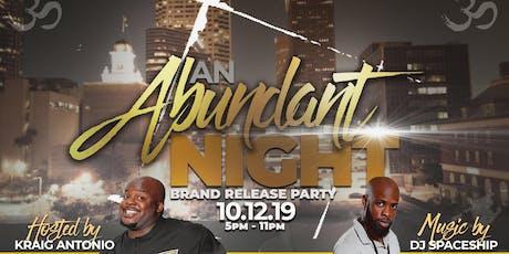 An Abundant Night tickets