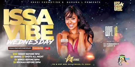 Issavibe Wednesday tickets