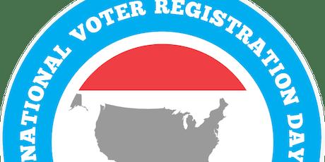 National Voter Registration Day tickets