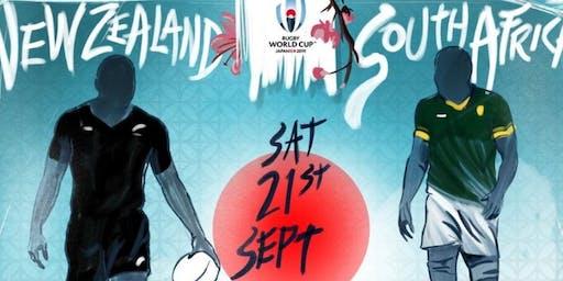 Clash of the Titans Springboks vs All Blacks
